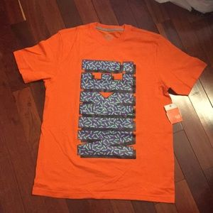 NIKE YO SS Orange NIKE Tee Shirt Size Large